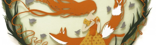 Paper collage illustrated by Sarah Dennis represented by New Division